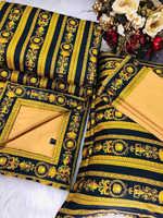 Набор Одеяло - покрывало + простынь с наволочками Версаче
