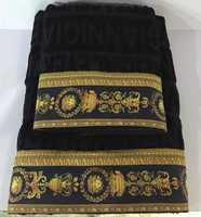 Набор полотенец Версаче ( черное )