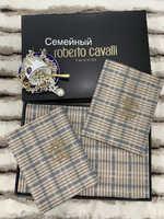 Белье сатин Louis Vuitton ( коричневый )cvd