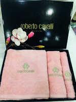 Набор полотенец Roberto Cavalli -  Элит - розовый